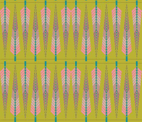my little squaw fabric by ma'vi on Spoonflower - custom fabric