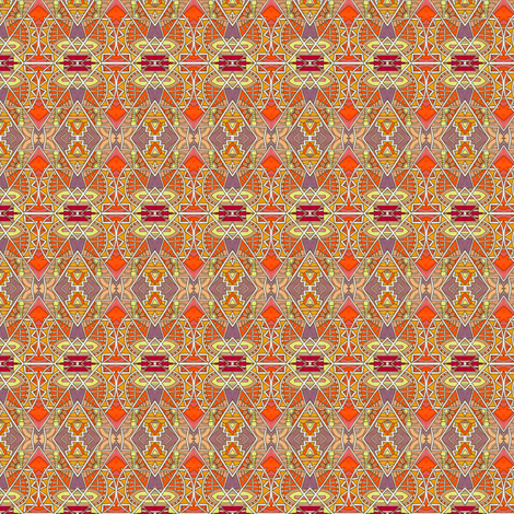 Like a Chrysler Building on Fire fabric by edsel2084 on Spoonflower - custom fabric