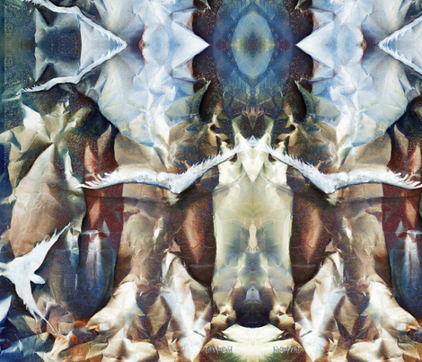 soft_Flight fabric by patioartist on Spoonflower - custom fabric