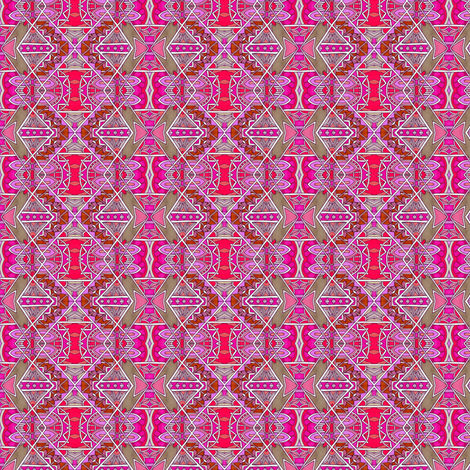 Moderne Zig Zag fabric by edsel2084 on Spoonflower - custom fabric