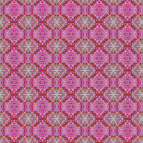 Geometry in Red fabric by edsel2084 on Spoonflower - custom fabric
