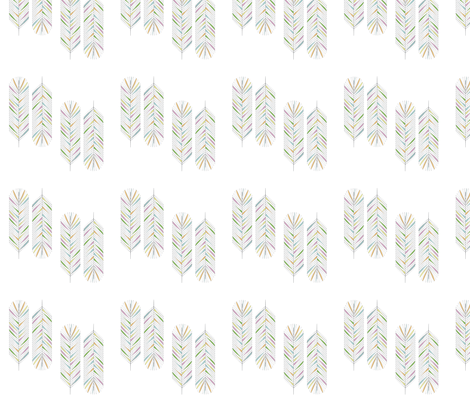 feather5tile fabric by tammiebennett on Spoonflower - custom fabric