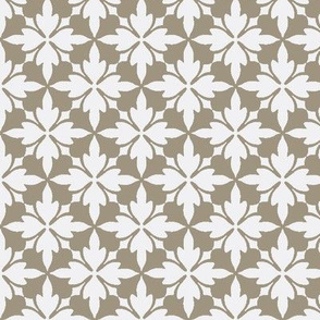 Bath House Tile - Brown Paper