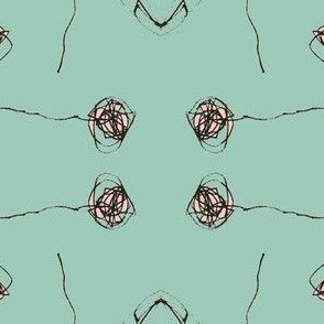 cara's doodle_aqua and pink