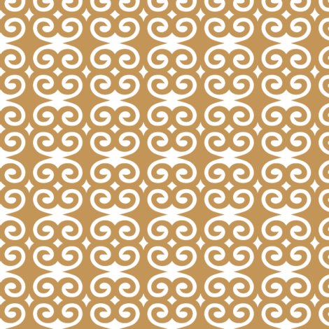 Caramel Swirl fabric by patternaholic on Spoonflower - custom fabric