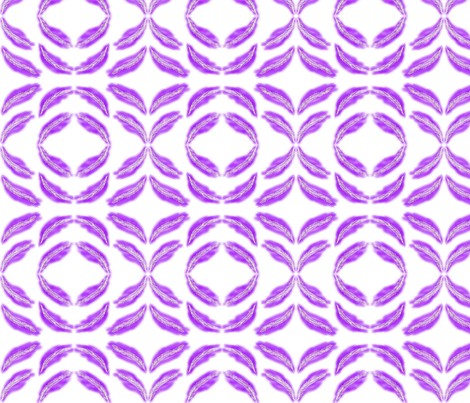 Purple_feathers fabric by iyomie on Spoonflower - custom fabric