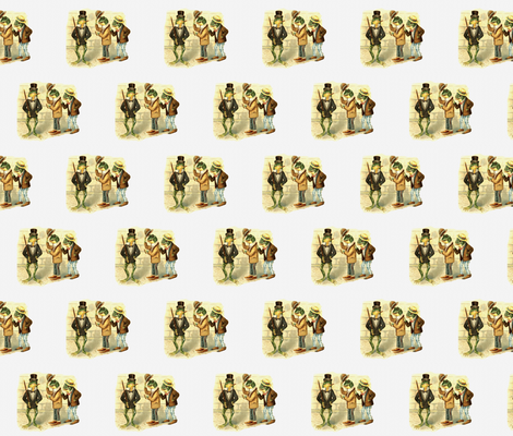 The Good Fellows  fabric by icarpediem_ on Spoonflower - custom fabric