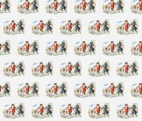 Beach Fun  fabric by icarpediem_ on Spoonflower - custom fabric