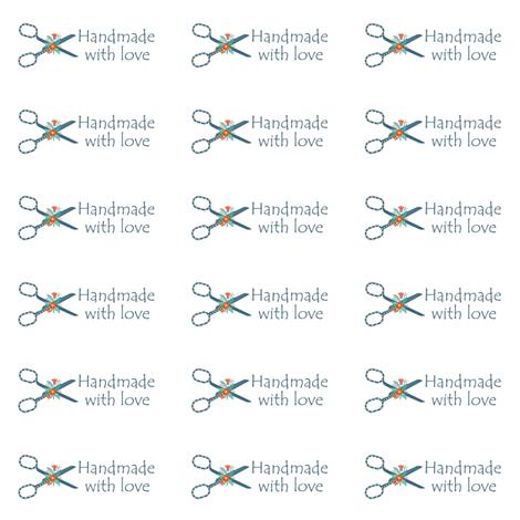 Handmade Label  fabric by icarpediem on Spoonflower - custom fabric