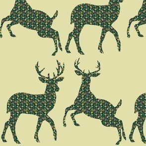 the autumn deer