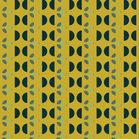 Greens fabric by gimlet on Spoonflower - custom fabric