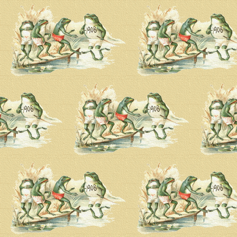 Fishing Fables  fabric by icarpediem_ on Spoonflower - custom fabric