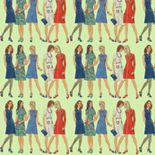 Vintage Ladies pattern