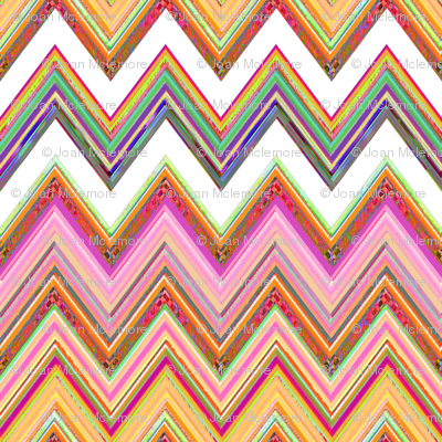 Spring Flush Chevron