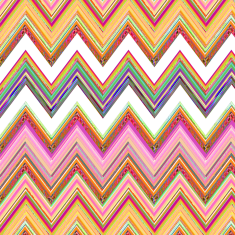 Spring Flush Chevron fabric by joanmclemore on Spoonflower - custom fabric