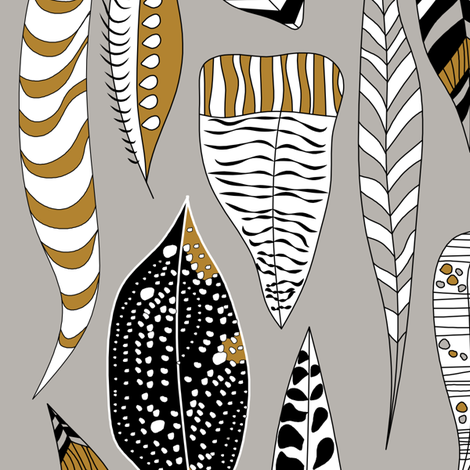 Unknown Feathers fabric by newmom on Spoonflower - custom fabric