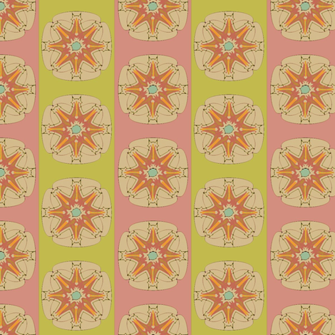 Circus Star fabric by david_kent_collections on Spoonflower - custom fabric