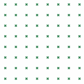 diagonal crosses dark nile green