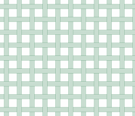 basketweave nile green fabric by georgeandgracie on Spoonflower - custom fabric