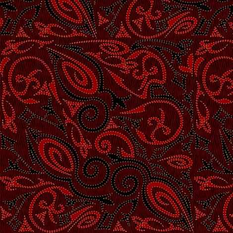 tattoo3 fabric by glimmericks on Spoonflower - custom fabric