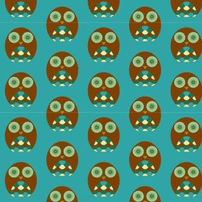 Owls - Blue
