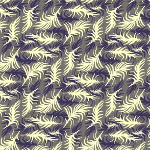 feather bed (indigo)