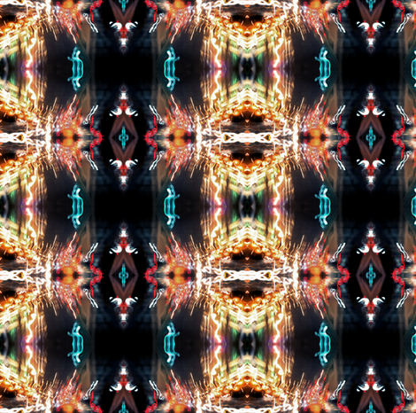Atlantic City Lights fabric by glennis on Spoonflower - custom fabric