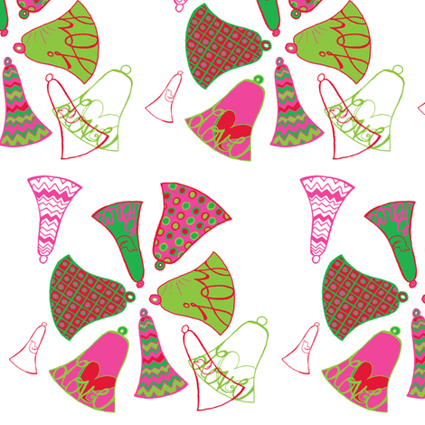 bellsmotifsmall fabric by abbington on Spoonflower - custom fabric