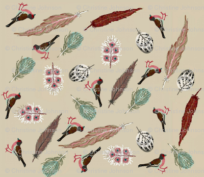 fancy feathers and birds