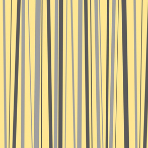 Grey & Yellow Stripes