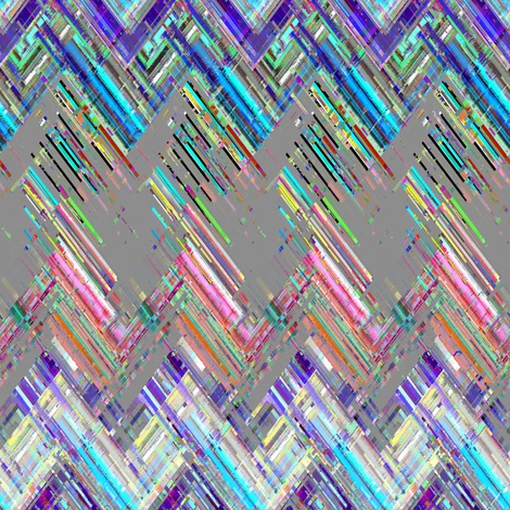 Zig Zag Threads  fabric by joanmclemore on Spoonflower - custom fabric