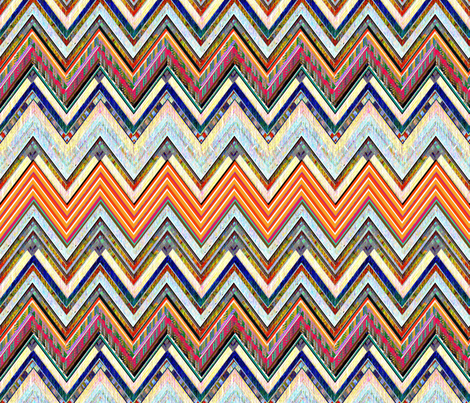 Southwest Sunrise fabric by joanmclemore on Spoonflower - custom fabric