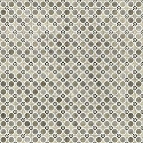 Spotty dots in pewter