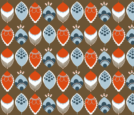 MOD Feathers fabric by natitys on Spoonflower - custom fabric