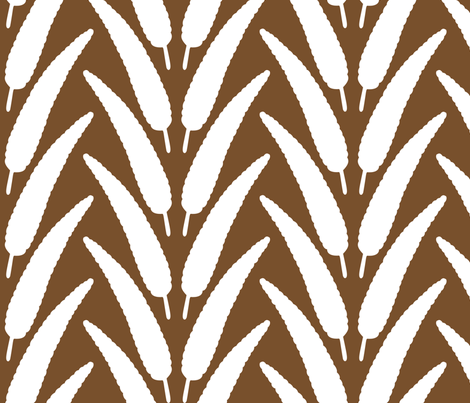 Grounded feather fabric by meredithjean on Spoonflower - custom fabric