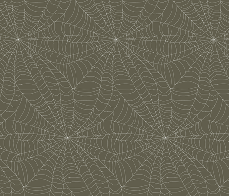 Empty Web  fabric by ceanirminger on Spoonflower - custom fabric