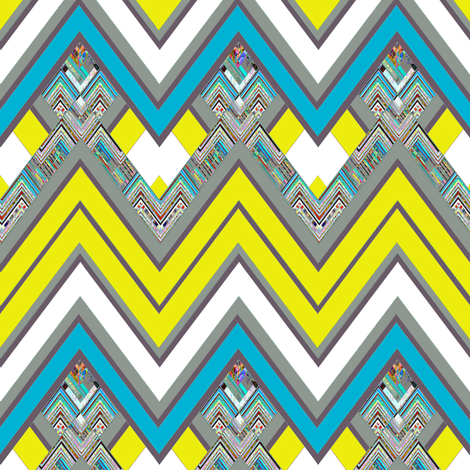 Citron Spring fabric by joanmclemore on Spoonflower - custom fabric