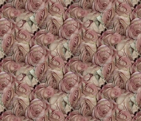 Antique Roses fabric by peacoquettedesigns on Spoonflower - custom fabric