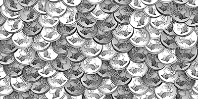 coins pieces of silver