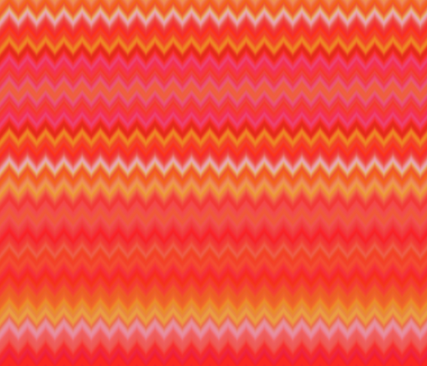 Aramantha Zig Zag Horizon fabric by peacoquettedesigns on Spoonflower - custom fabric