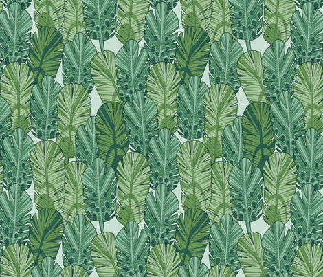 feather frenzy fabric by cjldesigns on Spoonflower - custom fabric