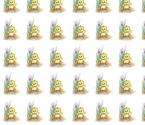 easter-kylling-500 fabric by mariannemathiasen on Spoonflower - custom fabric