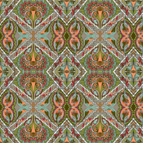 Not For Millionaires Only fabric by edsel2084 on Spoonflower - custom fabric