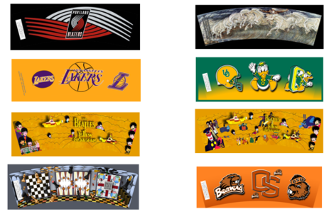 beatles-boardgames-lakers-spoonflower fabric by cafe_projections on Spoonflower - custom fabric