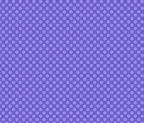 "Grape Dots 1/2"" Polka Dot fabric by grapedots on Spoonflower - custom fabric"