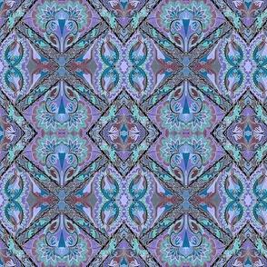 Positively Negative (lavender/blue)