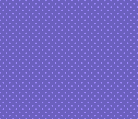 "Grape Dots Mini 1/4"" Polka Dot fabric by grapedots on Spoonflower - custom fabric"