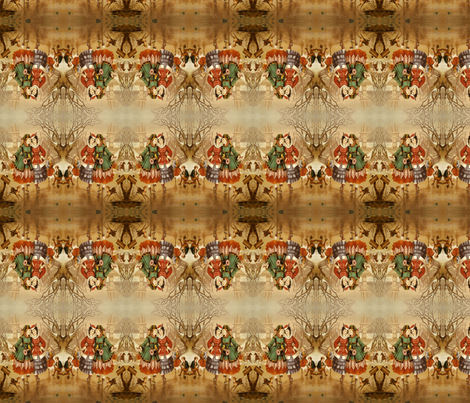 Ice Skaters fabric by midnight_tribe on Spoonflower - custom fabric