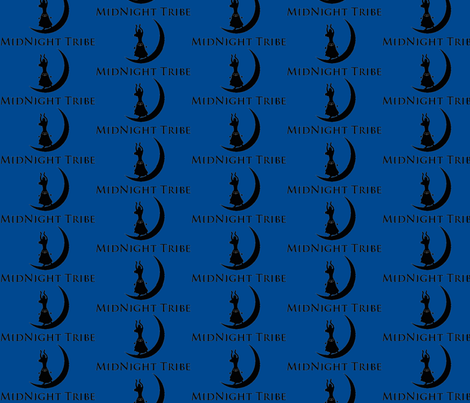 MidNight Tribe Logo fabric by midnight_tribe on Spoonflower - custom fabric
