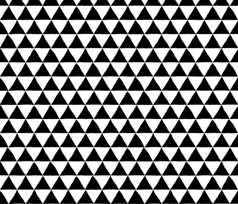 Pyramid Scheme in Black fabric by red_velvet on Spoonflower - custom fabric